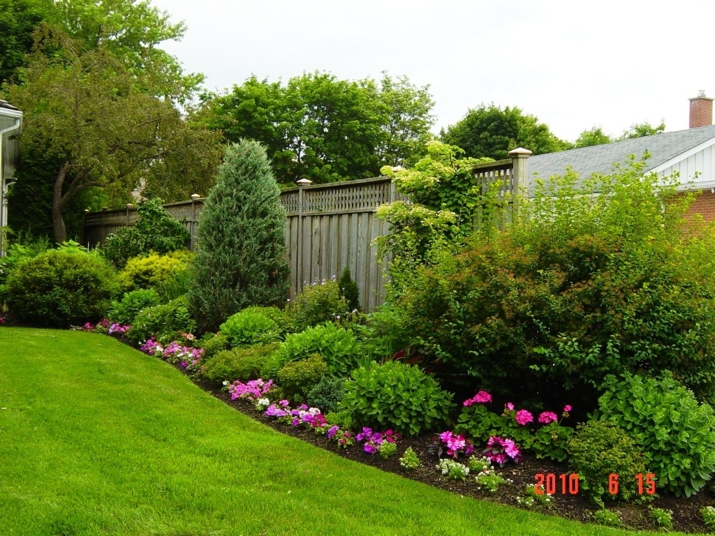 Image of: Rectangle Garden Landscape Ideas Small Yard Landscaping Intended For Landscaped Yards Decorative Ideas Landscaped Yards