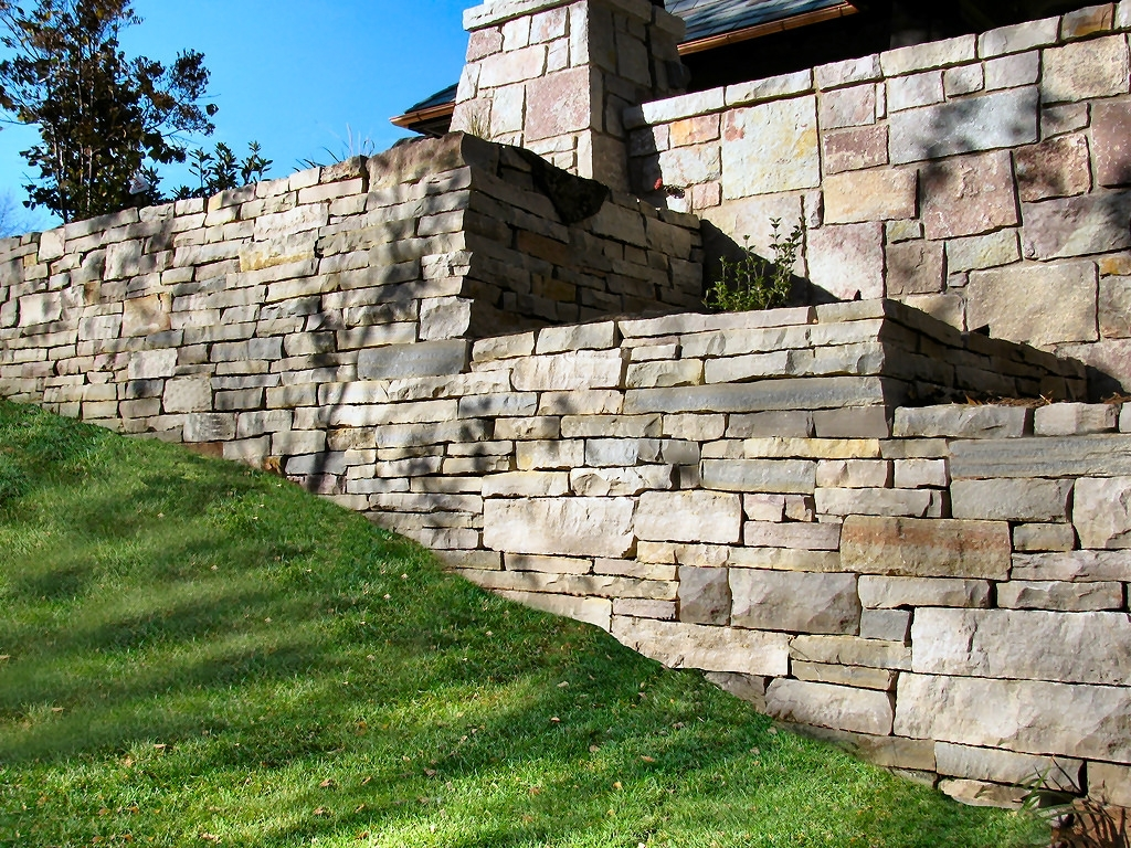 Image of: Retaining Walls Projects Hedberg For Landscape Retaining Wall