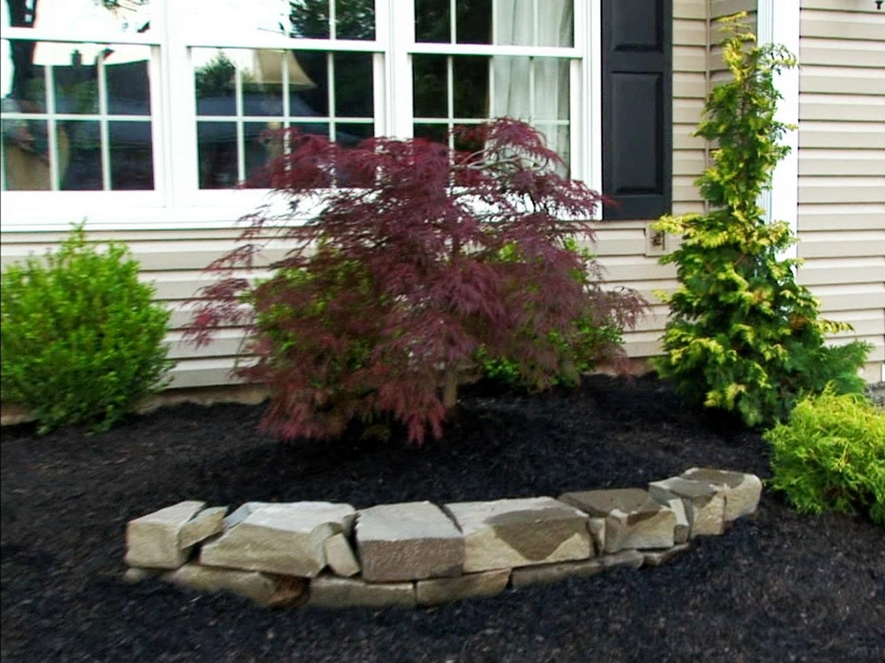Rock Landscaping Ideas Diy Pertaining To Front Yard Landscaping With Rocks Create Front Yard Landscaping With Rocks