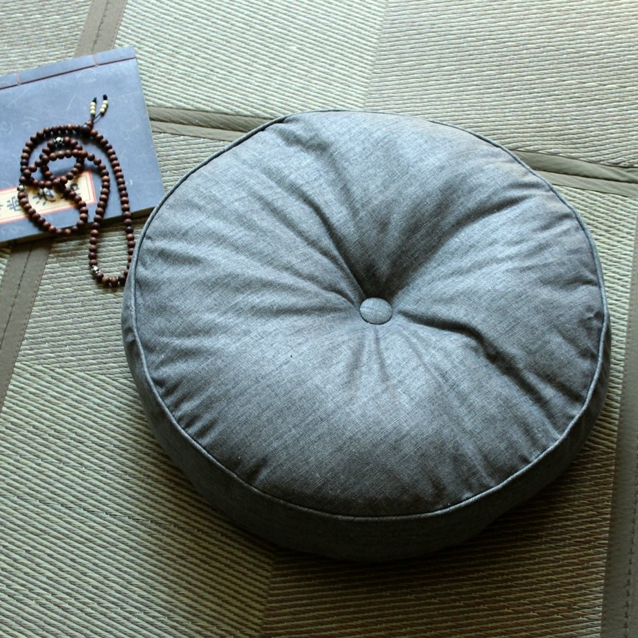 Image of: Round Chair Cushion Round Chair Cushions Fwfnv Cnxconsortium In Outdoor Meditation Cushion Ideas For Outdoor Meditation Cushion