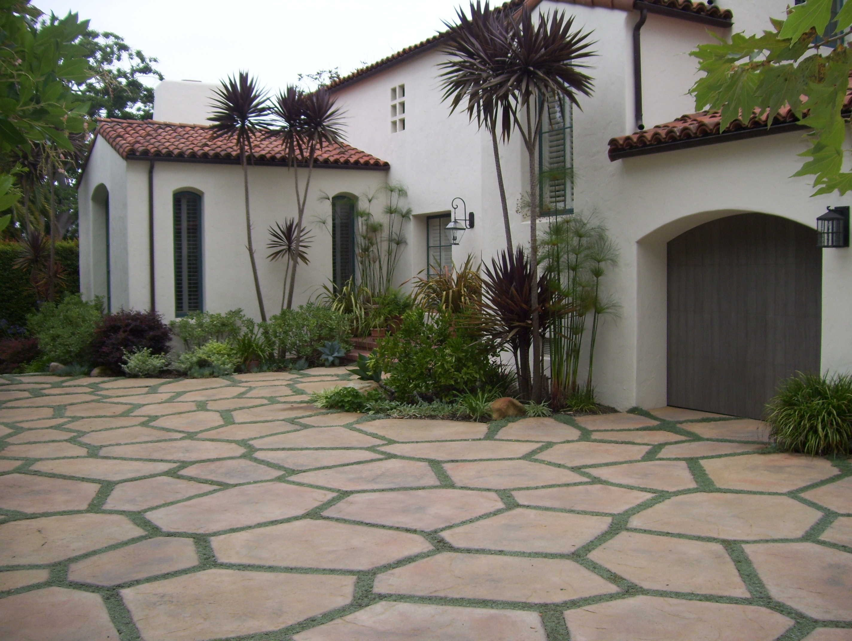 Image of: Santa Barbara Hardscape Design And Installation Ventura Ojai Within Hardscape Landscaping Hardscape Landscaping A Hill