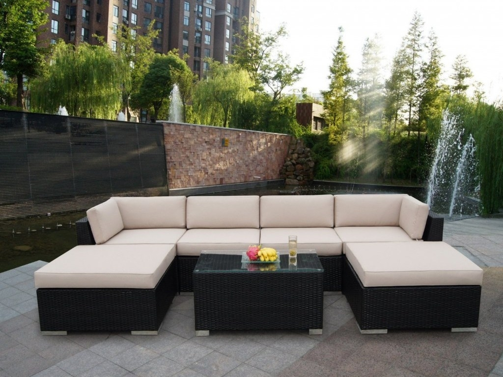 Image of: Sectional Sofa Outdoor Patio Sets Contemporary Outdoor Patio Regarding Outdoor Contemporary Furniture Wooden Outdoor Contemporary Furniture
