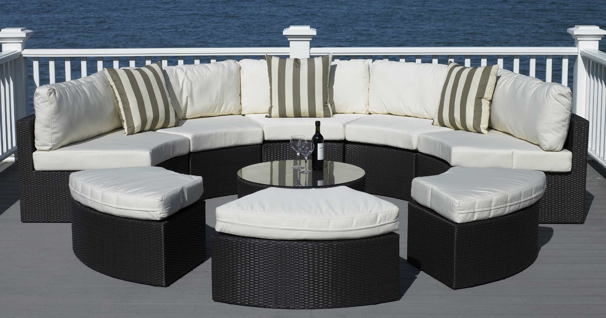 Image of: Semi Circle Outdoor Furniture Creative Patio Outdoor Design Pertaining To Outdoor Lounge Furniture Modern Outdoor Lounge Furniture Modern Design