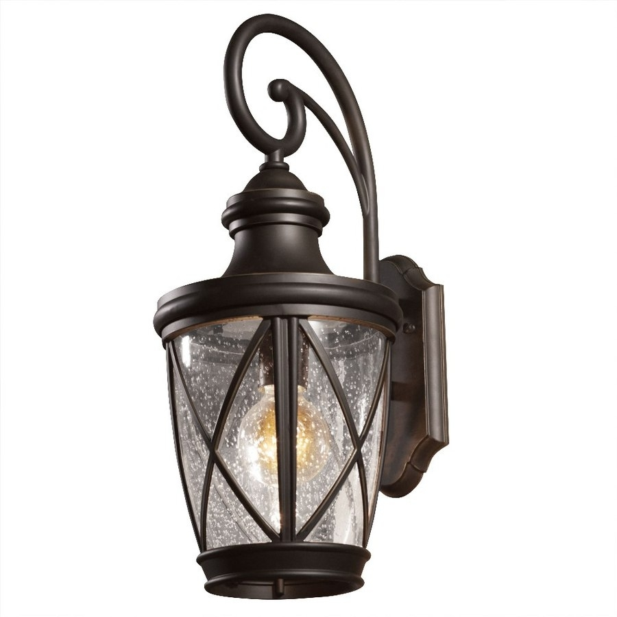 Image of: Shop Outdoor Wall Lights At Lowes Pertaining To Brass Outdoor Lights Brass Outdoor Lights Beautify Exterior