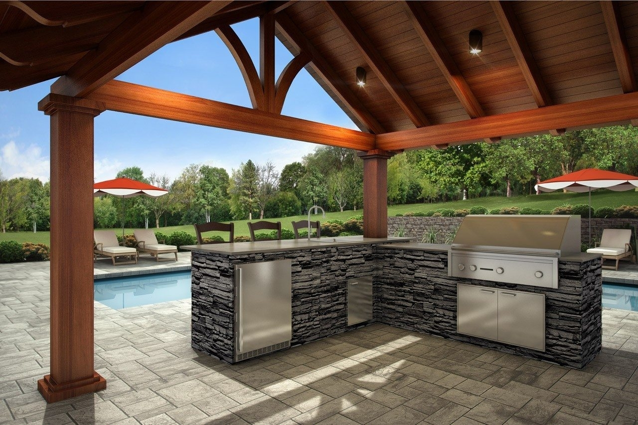 Sierra Signature Outdoor Kitchen I Xl Building Products For Eldorado Stone Outdoor Kitchen Eldorado Stone Outdoor Kitchen