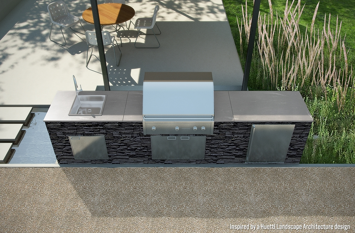 Image of: Signature Kitchens Eagle Stone Pertaining To Eldorado Stone Outdoor Kitchen Eldorado Stone Outdoor Kitchen