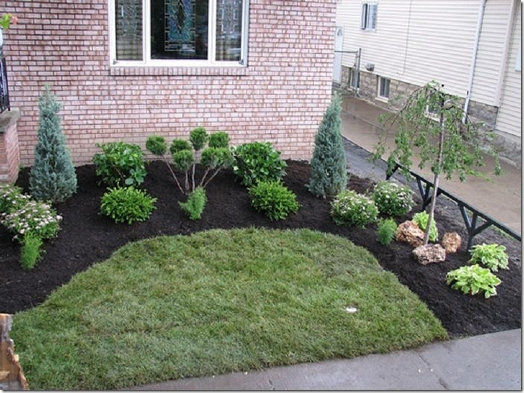 Image of: Simple Backyard Landscape Design 25 Best Cheap Landscaping Ideas Throughout Easy Landscaping Ideas Easy Landscaping Ideas Patio