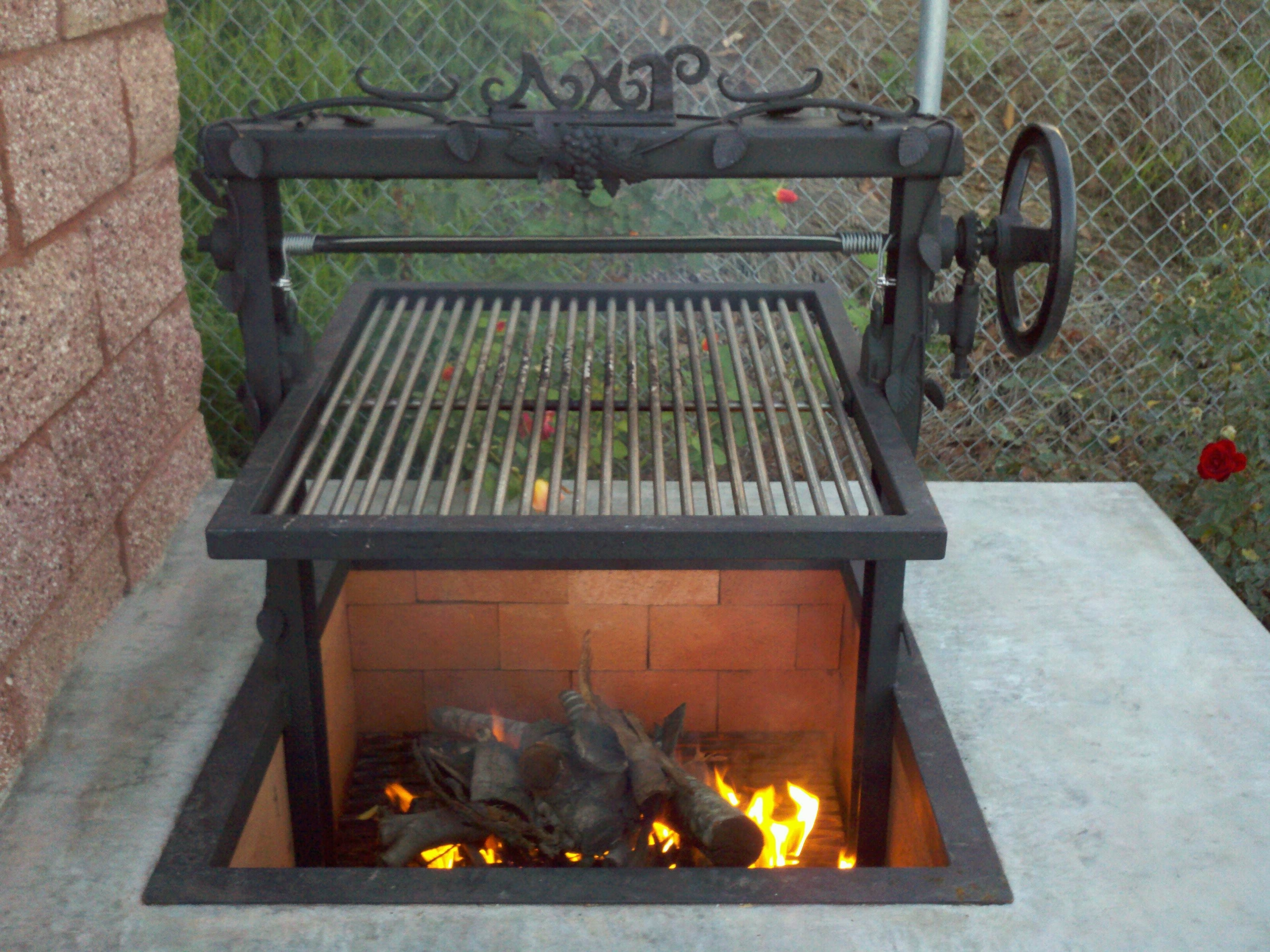 Image of: Simple Diy Porch Swing Fire Pit Out Grill Lp Gas Outdoor Fireplace With Regard To Unique Outdoor Fireplaces Grill Diy Unique Outdoor Fireplaces Grill