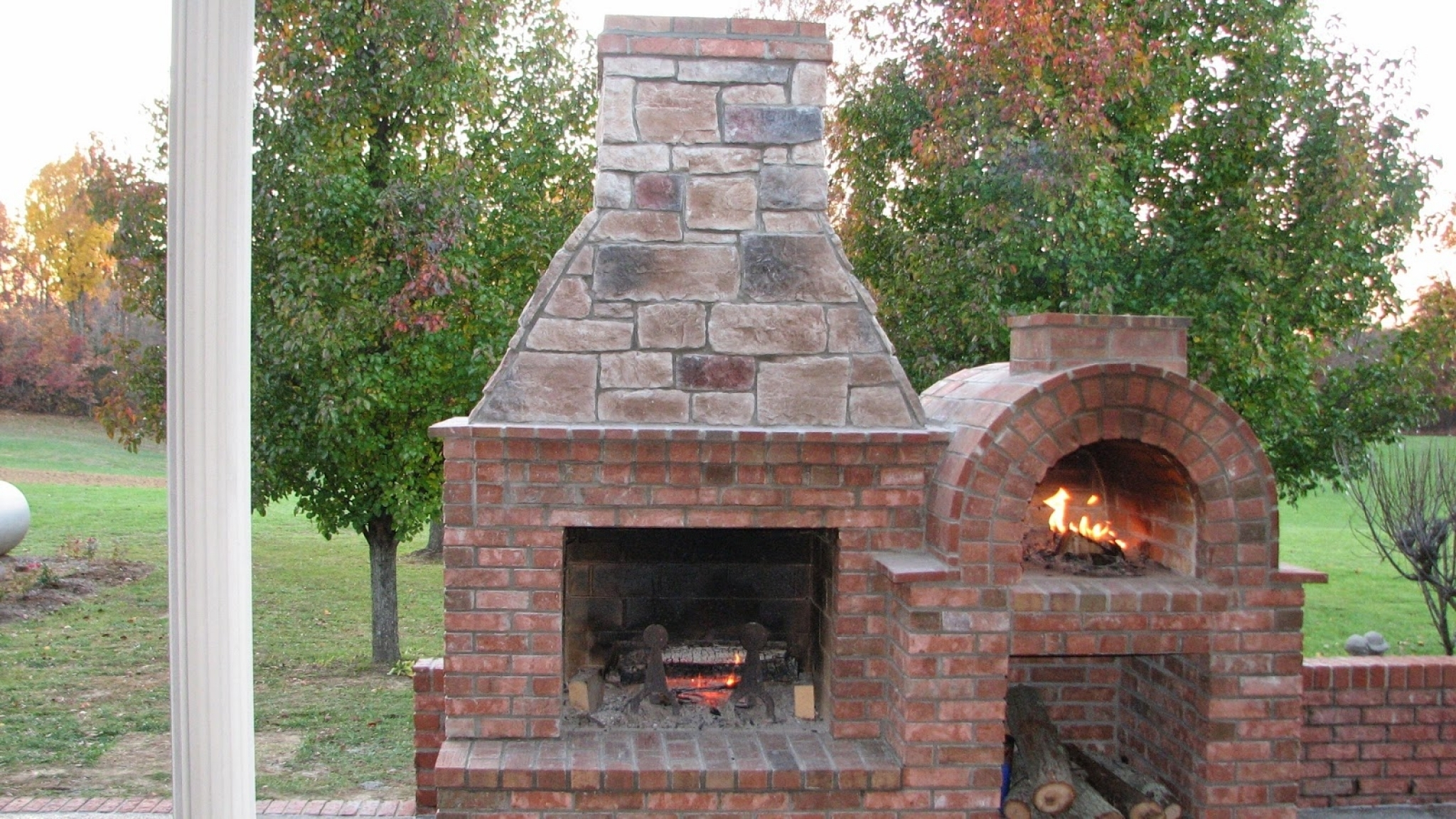 Image of: Simple Outdoor Fireplace Pizza Oven Plans Home Design Planning With Outdoor Wood Fireplace Design Outdoor Wood Fireplace Designs