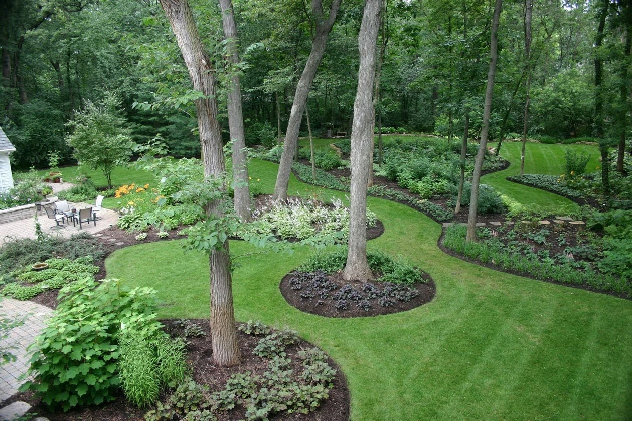 Image of: Small Backyard Landscaping Ideas Affordable Landscaping Ideas With Landscaped Yards Decorative Ideas Landscaped Yards