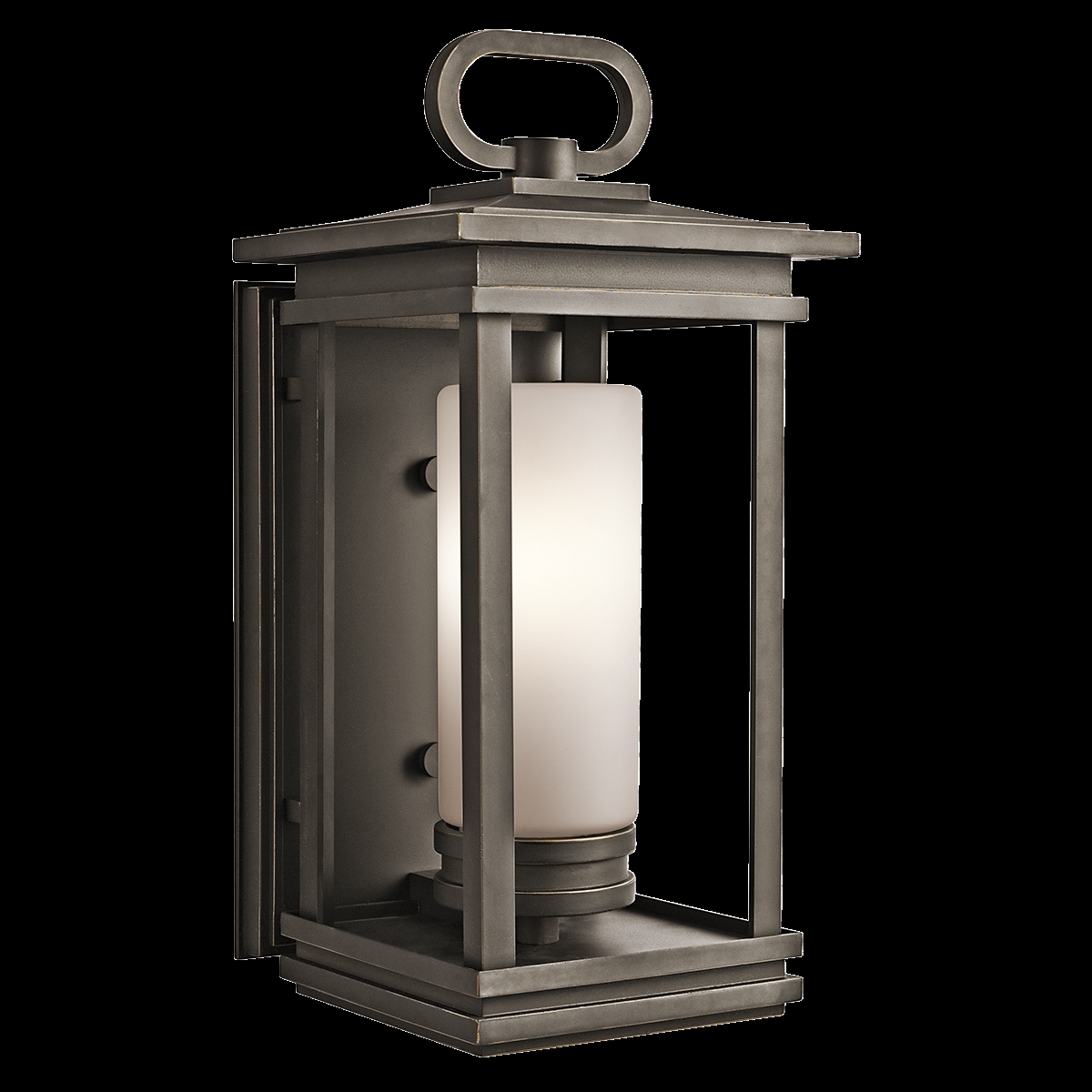 Image of: South Hope Large Fluorescent Kichler Outdoor Wall Lighting