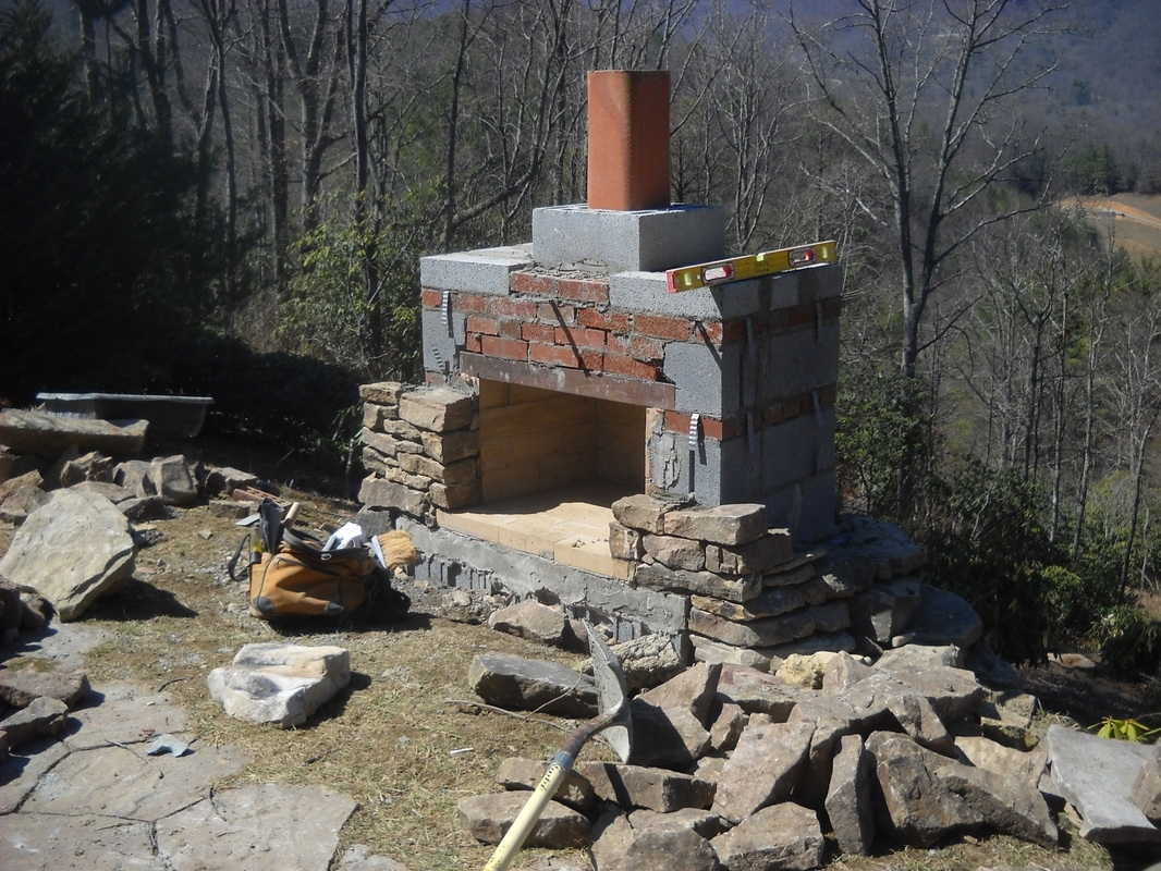 Image of: Stonetutorials Outdoor Fireplace Flue Cleaning Guide