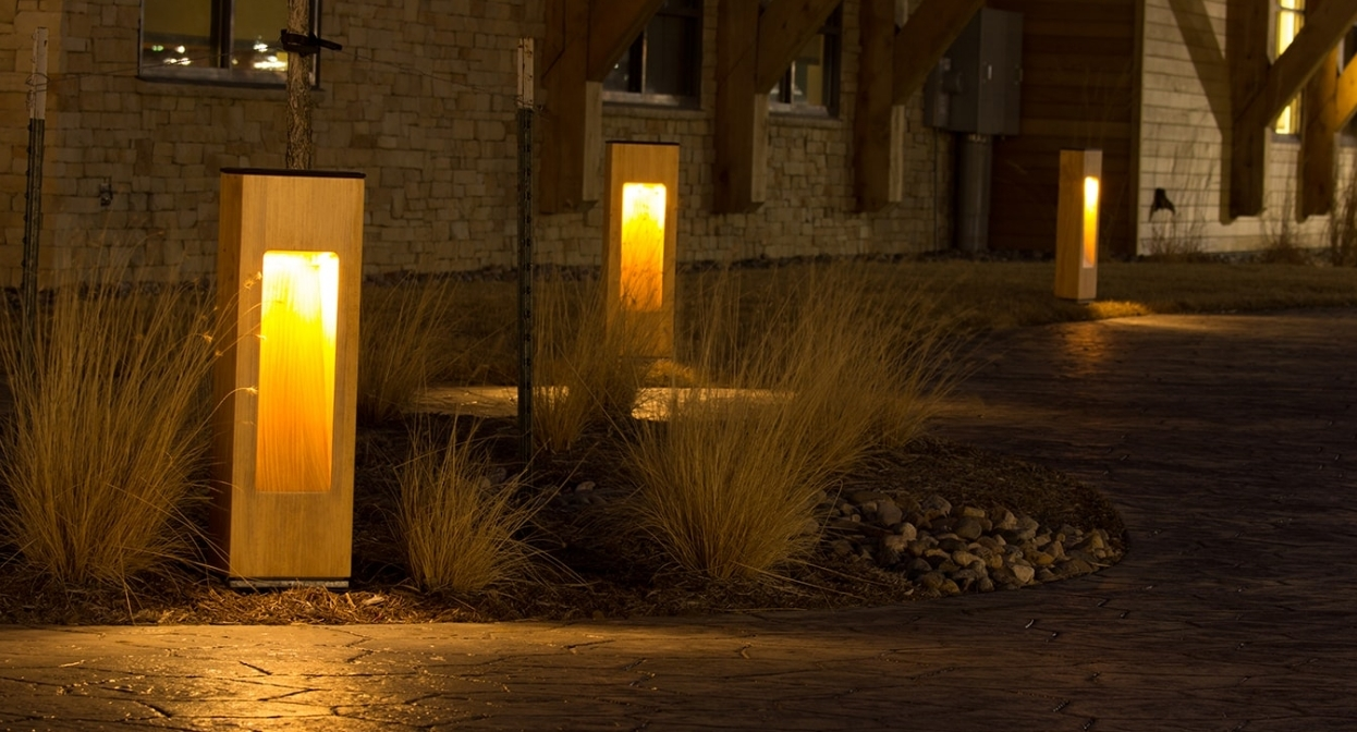 Image of: Structura Urban Exterior Outdoor Bollard Lighting Style