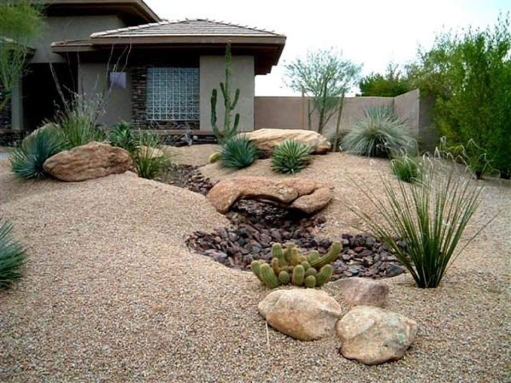 Image of: Stunning Desert Landscape Inspiring Ideas For Front Yard Home Pertaining To Front Yard Desert Landscaping Ideas Attractive Front Yard Desert Landscaping Ideas