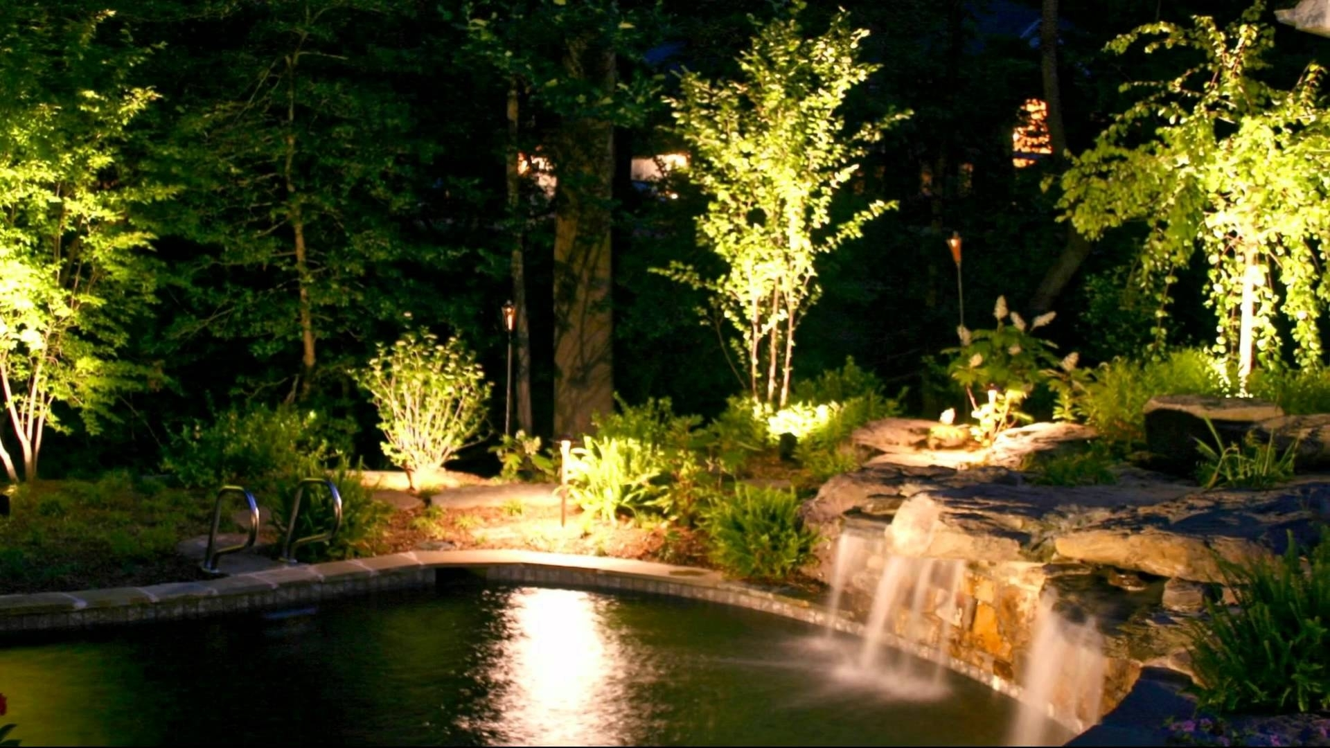 Image of: Stunning Outdoor Lighting Ideas Youtube Within Outdoor Lighting Designs Outdoor Lighting Designs In Facades