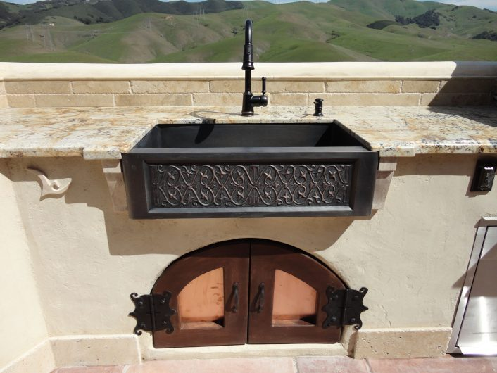 Stunning Sinks For Outdoor Kitchens Ideas Bathroom Bedroom Regarding Outdoor Kitchen Sink Drain Best Outdoor Kitchen Sink Drain Idea