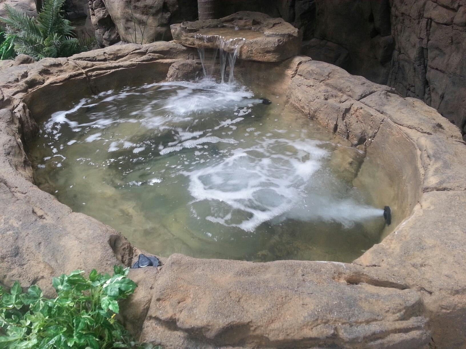 Image of: Swimming Pool Rock Waterfalls Kits Fountains And Boulders Throughout Fake Rocks For Landscaping Affordable Fake Rocks For Landscaping