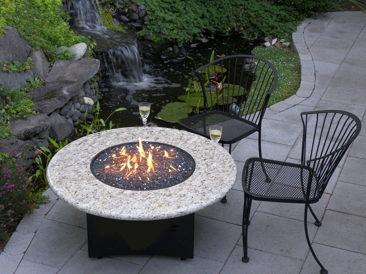 Tabletop Gas Fire Pit Outdoor Great Room Key Largo Linear Fire With Regard To Outdoor Fireplace Burner Outdoor Fireplace Burner Clan