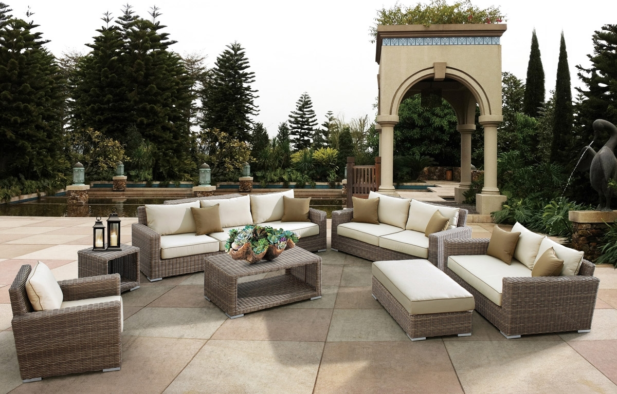 Image of: Outdoor Patio Furniture Brands For High End Outdoor Furniture