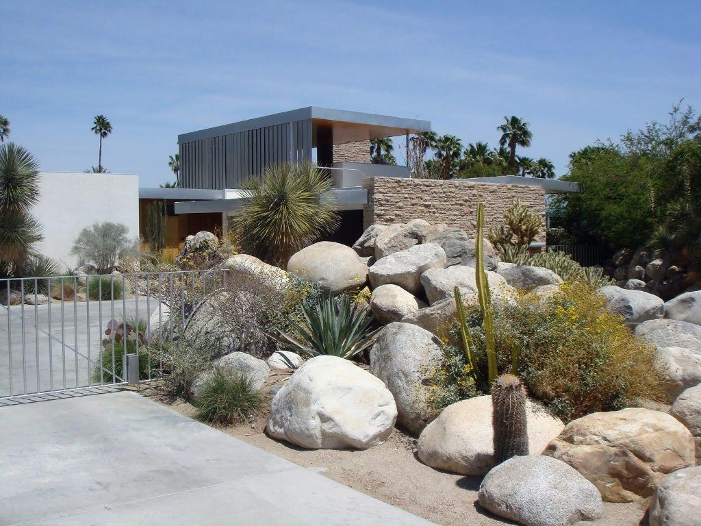 Image of: Tips For Desert Landscape Front Yard Designs Ideas And Decor Pertaining To Special Desert Landscaping Ideas Special Desert Landscaping Ideas At Home