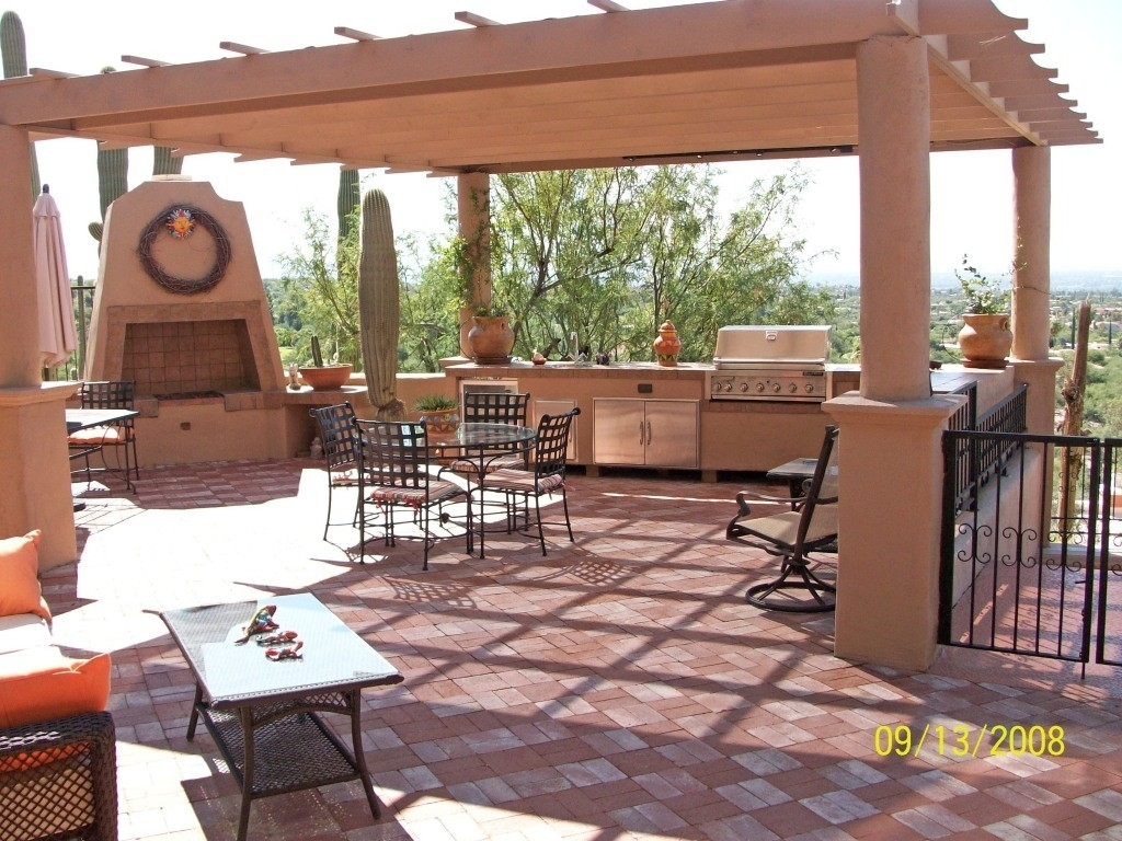 Image of: Top 15 Outdoor Kitchen Designs And Their Costs 24h Site Plans With Outdoor Kitchen Wood Countertops Nice Outdoor Kitchen Wood Countertops Inspiration