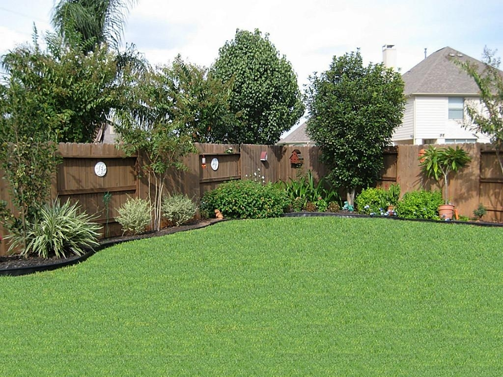 Image of: Top 25 Best Backyard Landscaping Ideas On Pinterest Backyard Regarding Landscaped Yards Decorative Ideas Landscaped Yards