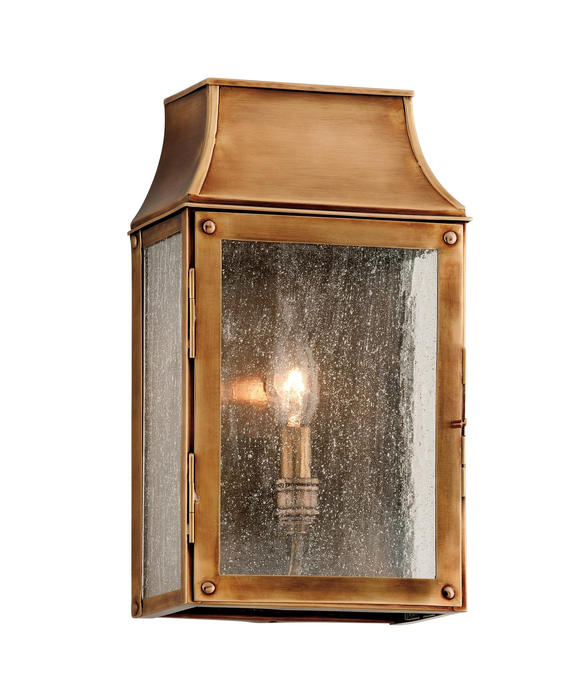Image of: Troy Lighting B3421 Beacon Hill 7 Inch Wide 1 Light Outdoor Wall In Brass Outdoor Lights Brass Outdoor Lights Beautify Exterior