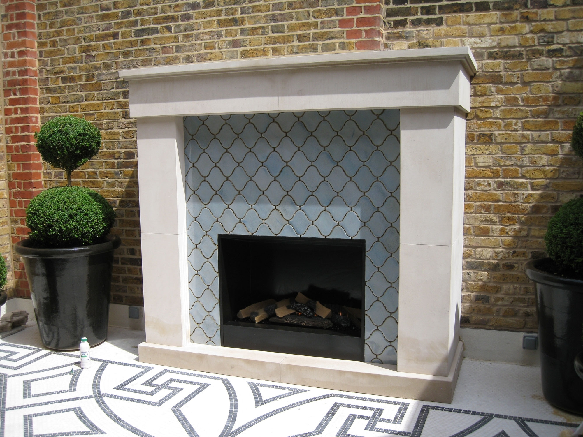 Image of: Urbanfires Fireplaces For Outdoor Fireplace Flue Cleaning Guide