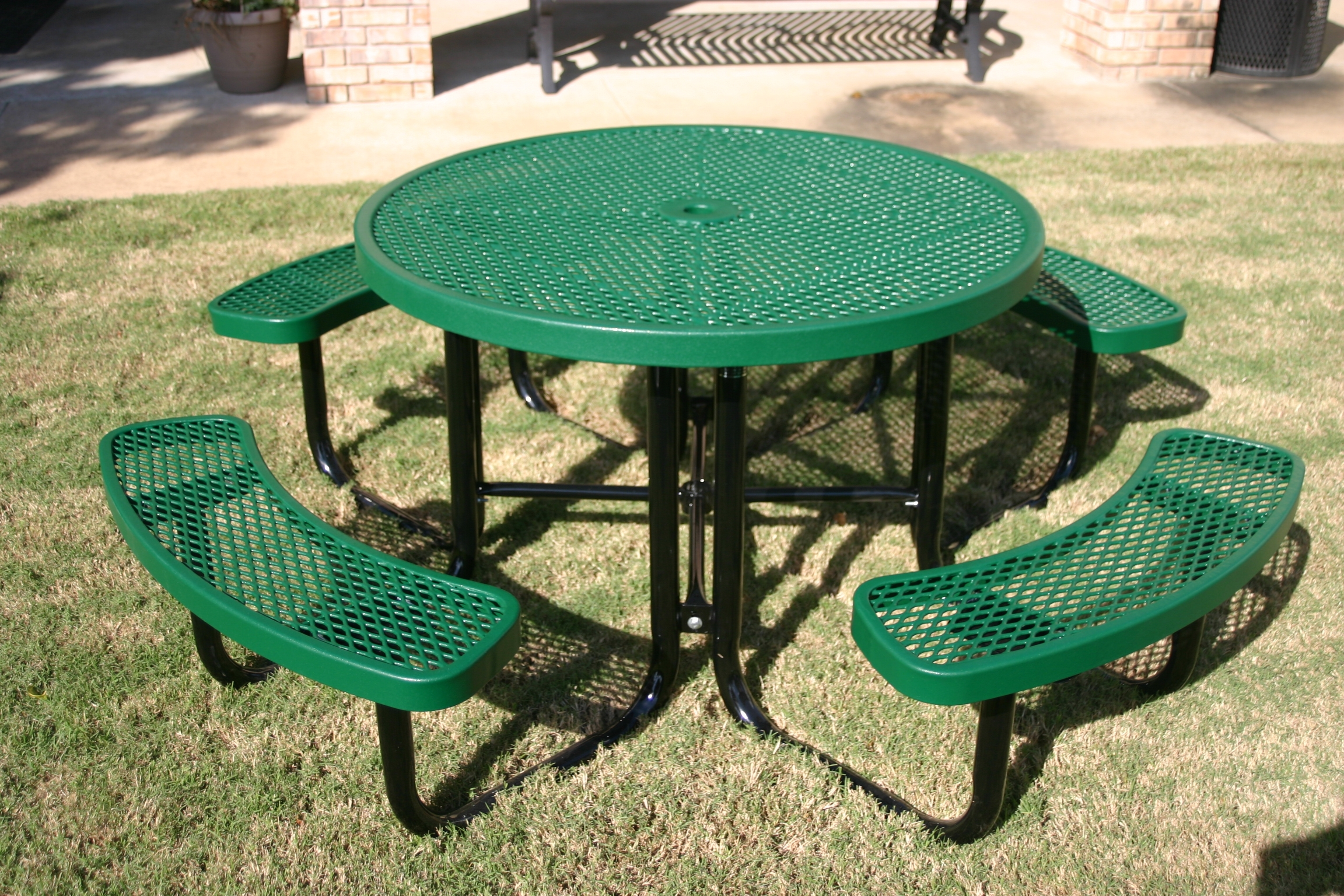 Image of: Webcoat Expanded Metal Outdoor Furniture Ideas