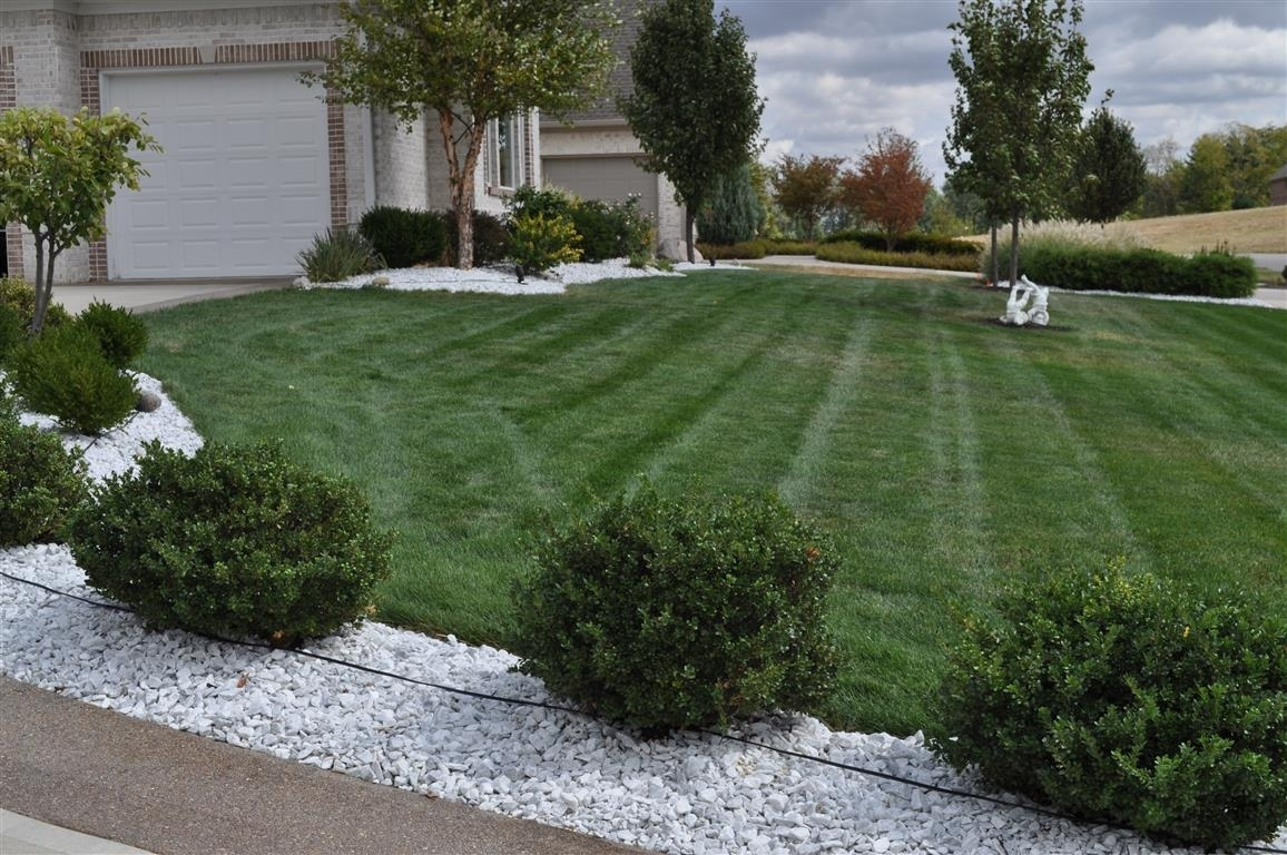 White Marble Indianapolis Decorative Rock Mccarty Mulch With Regard To White Rocks For Landscaping Amazing White Rocks For Landscaping