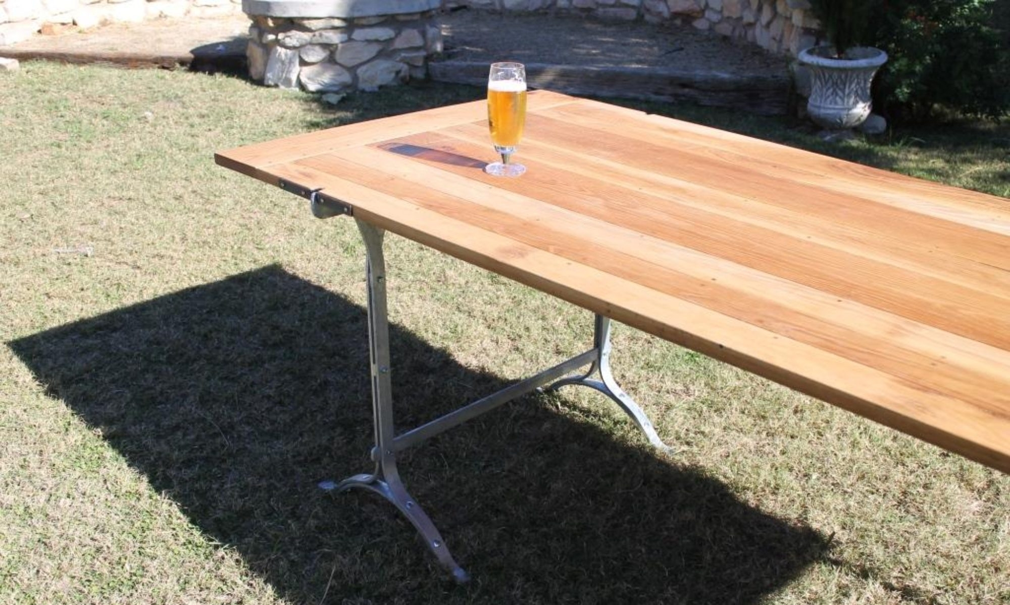 Image of: White Oak Harvest Tables Coldstream Woodworks With White Oak Outdoor Furniture Good Protector For White Oak Outdoor Furniture