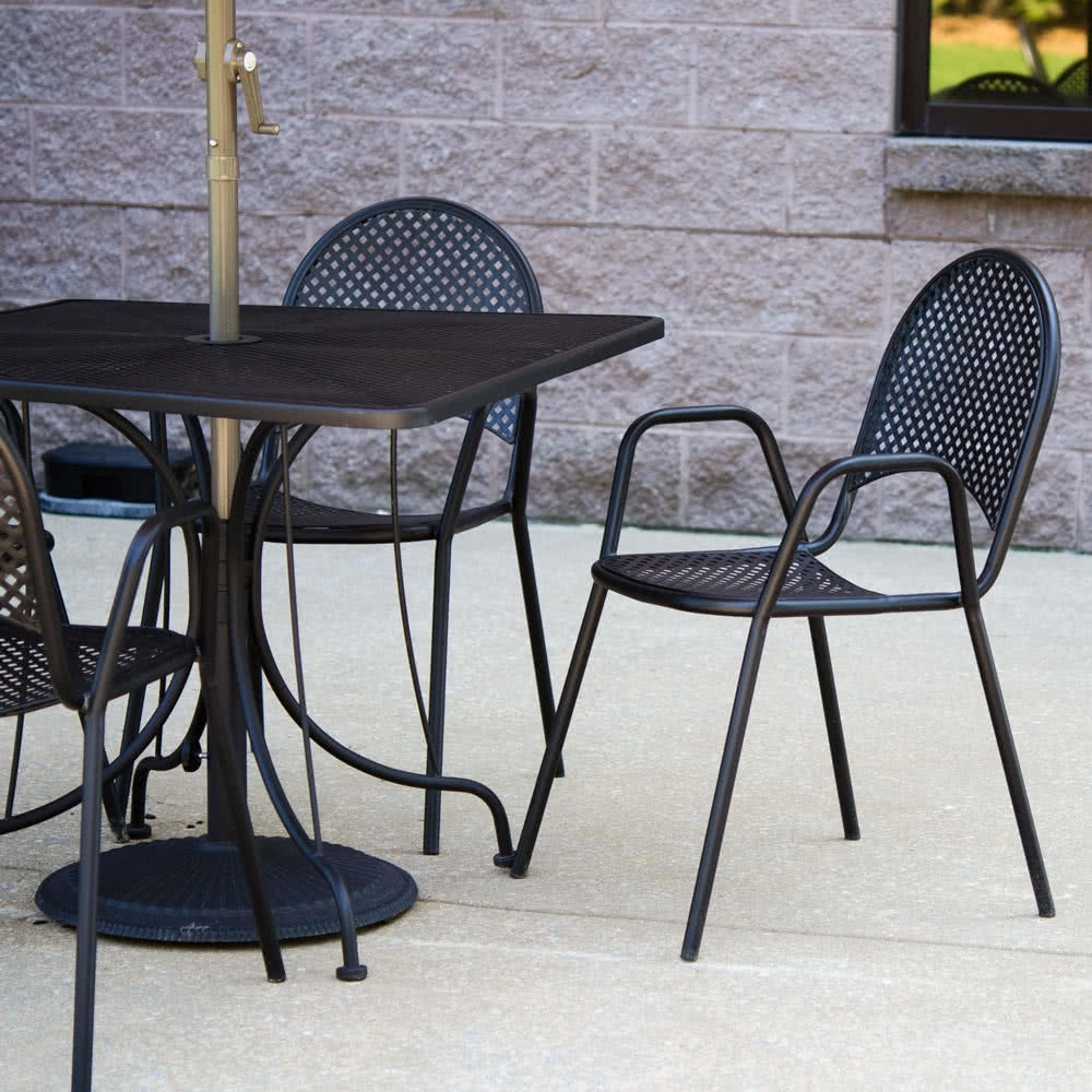 Image of: American Tables Expanded Metal Outdoor Furniture Ideas