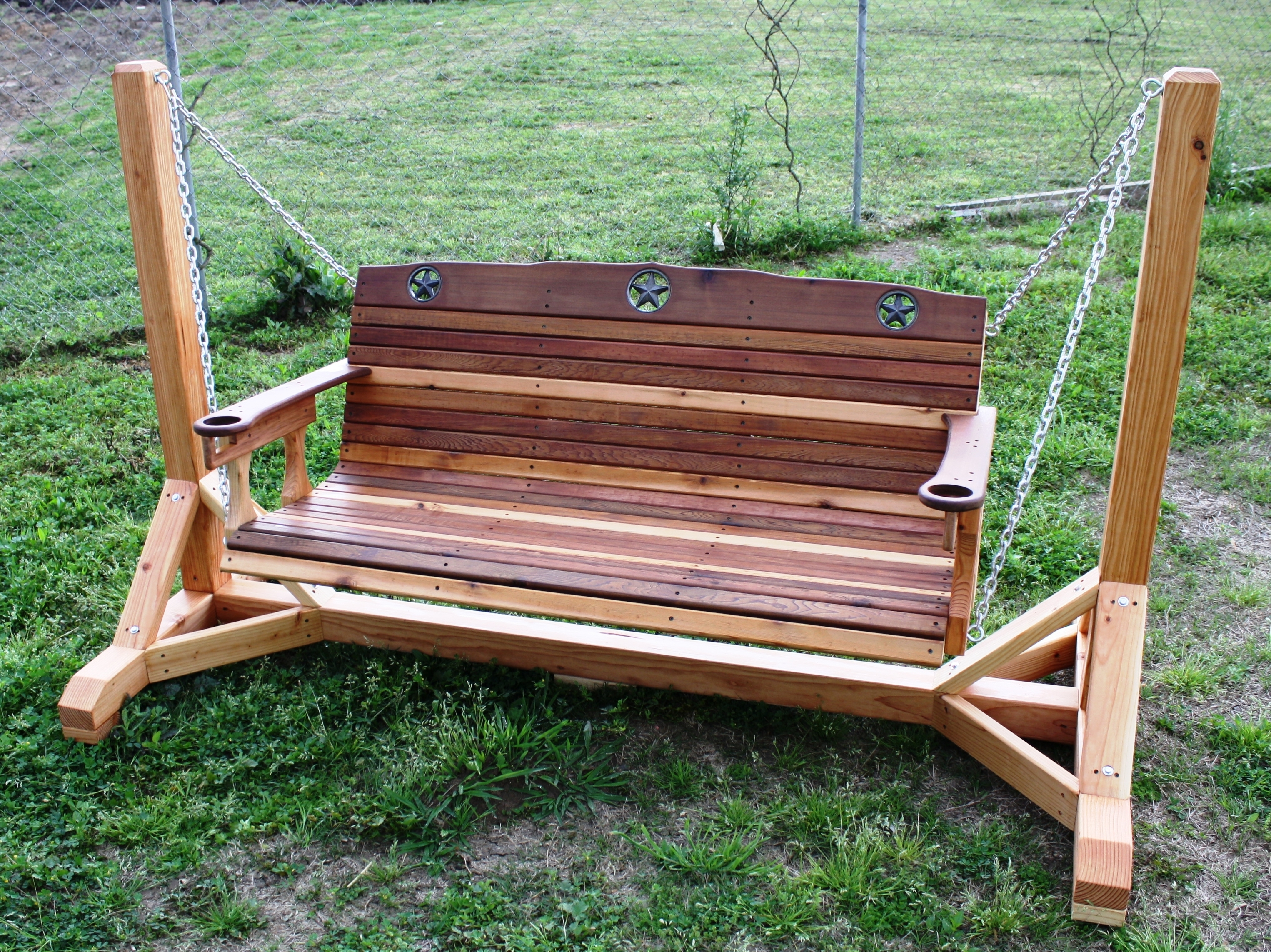Image of: Fresh Dream For Free Standing Porch Swing